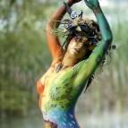 Rainbow maiden